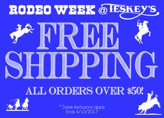 Rodeo Week is ALMOST over! Take advantage! Shop Teskey's @ http://ss1.us/a/Lpwg9EKy FREE SHIPPING! *Some Exclusion Apply  #Teskeys #Rodeoweek #FREESHIPPING