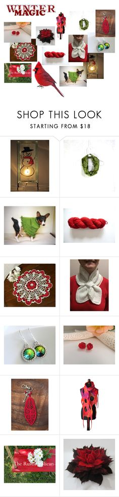 """""""Winter gifts"""" by valeriebaberdesigns ❤ liked on Polyvore featuring Hostess"""