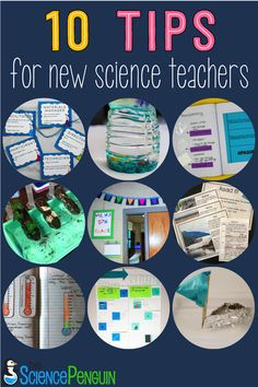 "10 Tips for New Elementary Science Teachers from Science Penguin -- There are a lot of things you can take care of over the summer so you can relax a bit more during the school year. You're going to need your ""me time"" even more then! Science Resources, Science Education, Teaching Science, Life Science, Science Room, Science Ideas, Science Activities, Teacher Resources, Physical Science"