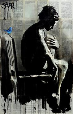 "Saatchi Art Artist Loui Jover; Drawing, ""moments"" #art"