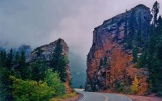 """From the """"Peak to Peak Highway"""", Front Range of the Rocky Mountains, Colorado"""