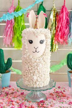 Mini Tortillas, Llama Birthday, Fake Cake, Dinosaur Cake, Salty Cake, Party Props, Party Ideas, Savoury Cake, Pink Polka Dots