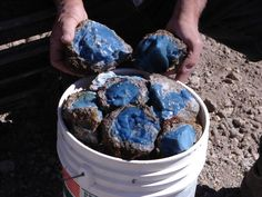 Blue Opal from Idaho ....guess I need to plan a trip to Idaho :)