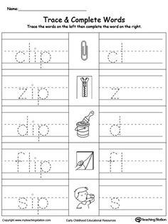 Expanded Notation Worksheets Excel Early Childhood Word Families Worksheets  More Printable  Multiplication Tables Practice Worksheets Word with Noun Adjective Verb Worksheet Word Preschool And Kindergarten Worksheets Worksheet On Density Pdf