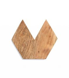 Thirstystone Marble & Wood Hexagonal Serving Board