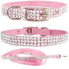 Rhinestone Pet Collar- Rhinestone Puppy Collars, Pet Collar, Jeweled Collars, Rhinestone Cat Collar
