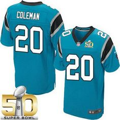 Carolina Panthers Kurt Coleman GAME Jerseys