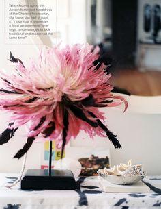 Coffee Table Styling * Headdress display