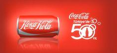 Coca Cola = Koka Kola *50 years in Turkey