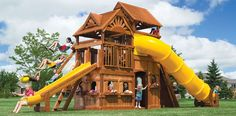 now this would be and awesome swing set, maybe a little big though!!!