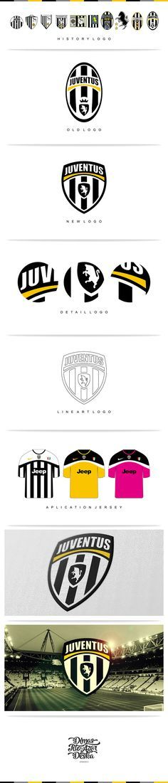 Juventus Logo Rebranding Unofficial on Behance