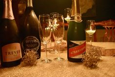 What better way to share the holiday spirit than with a bottle of sparkling wine, that harbinger of the holidays, Champagne!