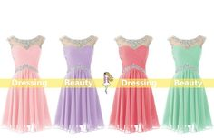 This would be such a cute dress for homecoming!
