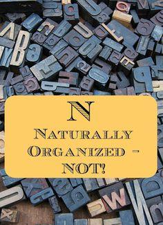 Naturally Organized - Not! on Homeschool Coffee Break @ kympossibleblog.blogspot.com  Here are a few tips for homeschool organization,…