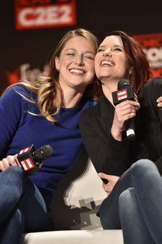 Melissa Benoist and Chyler Leigh