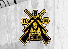 Extreme character brand 'Gangster crow guile' Brand identity bi logo emblem design introdution. Designed by doldol. doldoly2002@naver.com . #bi #ci #crow #graffiti #america  #emblem #logo #brand #character #doldol #snowboard #sticker #skateboard #longboard #로고 #로고제작 #심볼 #엠블럼 #브랜드제작 #돌돌디자인 #그래피티 #그래픽디자인 #미국디자인 #캐릭터제작 #캐릭터디자인 #다발총 #복고디자인 #복고풍 #gun #캐릭터디자이너돌돌