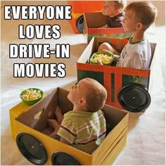 Pinned from Facebook. A day at the drive-in.