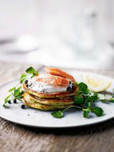 watercress potato pancakes.