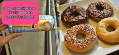 Some of Pillsbury's products are surprisingly vegan. Use their biscuit dough to make delish vegan donuts.   17 Cooking Hacks Every Vegan Should Know