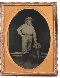 (c.1850s) California Gold Miner