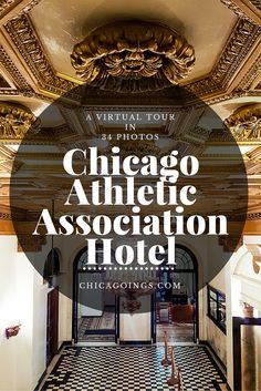 A detailed, virtual tour of the Chicago Athletic Association Hotel in all of its parts, including what some are calling the best and most exclusive bar in the city, Milk Room. Chicago Loop, Chicago Style, Meridian Hotel, Chicago Athletic Association, Best Hotels, Amazing Hotels, Chicago Apartment, Chicago Hotels, Hotel Restaurant