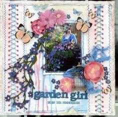 """Garden Girl 2nd in command """"Scraps of Elegance"""" - Scrapbook.com"""