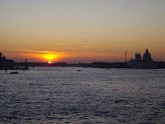 Tramonto in bacino di San Marco a Venezia Panoramio - Photos of the World