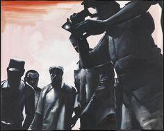 Wilhelm Sasnal 'Gaddafi 2', 2011 © Wilhelm Sasnal, courtesy Sadie Coles HQ