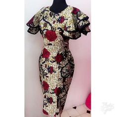 We are lucky to live in a world where pretty much anything goes, fashion-wise. It means that people can express themselves in all kinds of ways through clothing. Ankara Dress Styles, African Fashion Ankara, Latest African Fashion Dresses, African Dresses For Women, African Print Dresses, African Print Fashion, Africa Fashion, African Attire, Tops