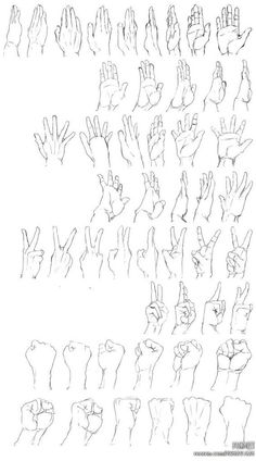 hand pose gesture perspective