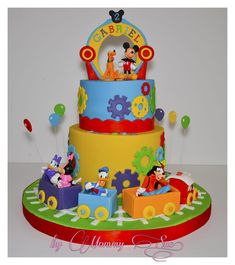 Mickey Mouse Clubhouse Cake - cake by Mommy Sue