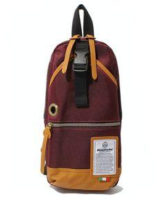 atmos select(アトモスセレクト)のBianchi Body Bag [ビアンキ ボディバッグ] (ショルダーバッグ)|ワイン