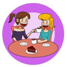 café entre amigas #coffelover #café #conversaciones