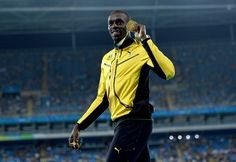 Usain Bolt claims ninth career Olympic gold medal as Jamaica wins men's 4x100 relay.