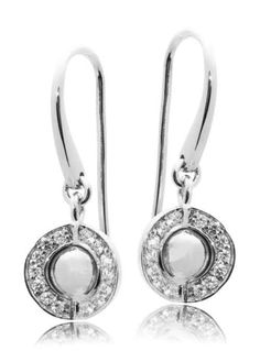 Joy de la Luz | Earrings cz silver/silver  €85,00