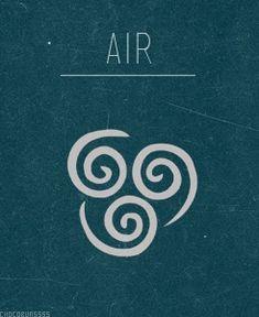 Celtic Element Symbol - Air