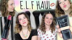 E.L.F Haul + First Impressions + Makeup Routine !!
