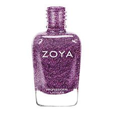 Zoya Nail Polish in Aurora - plum with a high concentration of micro fine diamond holographic glitter www.zoya.com/content/38/item/Zoya/Zoya-Nail-Polish-in-Aurora-ZP646.html?O=PN120921FR13189