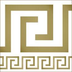 Greek Key Stencil-greek key, stencil, border, flipping out, jeff lewis designs