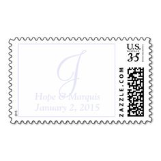 Weddings Perfect Letters Glitter Postage Stamps