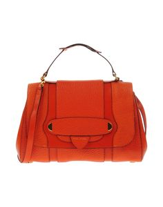 Marc Jacobs Orange Medium Calfskin Leather Tote w/Combination Lock