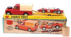 Mettoy Corgi diecast No. GS17 Gift Set Ferrari Racing set