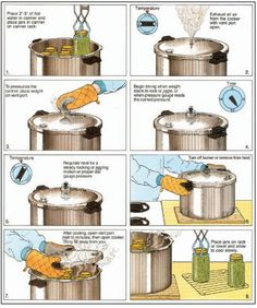 Dont let a little steam and boiling water scare you. Pressure canning and water bath canning are safe methods to preserve your food. Learn how with this excerpt from the USDA Complete Guide to Home Canning, from MOTHER EARTH NEWS magazine. Canning Corn, Canning Tips, Home Canning, Hot Water Bath Canning, Pressure Canning Recipes, Canning Food Preservation, Preserving Food, Chutney, Konservierung Von Lebensmitteln