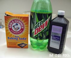Pinterest Tested: Glowing Mountain Dew