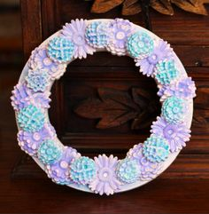 Cool2Cast Mini Floral Wreath by Tiffany Windsor