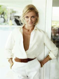 Love this! #white #classic #style #fashion