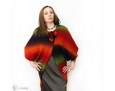 Hand Knit eco fashion bolero for Women designer by ToBeStudio