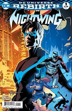 12/2/2016 -- Nightwing (2016) #1 VF/NM (9.0) rebirth Batman now on Amazon!