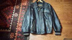 Levi Strauss Leather Jacket  Man 1998 (Made in Argentina)