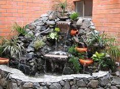 Resultado de imagen para cascadas de jardin modernas